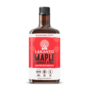 MAPLE SYRUP 388ml MONKFRUIT LAKANTO