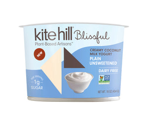 YOGURT 454G BLISSFUL PLAIN UNSWEETENED