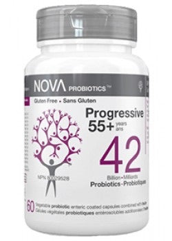 PROBIOTIC 42 BILLION PROGRESSIVE + 55 60 Vcaps
