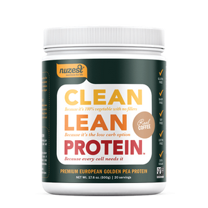 CLEAN LEAN PROTEIN PLANT BASED 500G REAL COFFEE