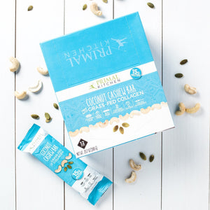 COCONUT CASHEW COLLAGEN BAR