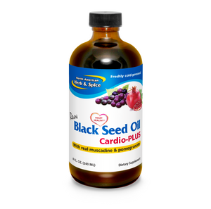 BLACK SEED OIL 240ML CARDIO glass bottle