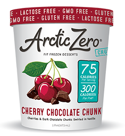 CHERRY CHOCOLATE CHUNK FROZEN DESSERT 16 oz (only Montreal and surroundings)