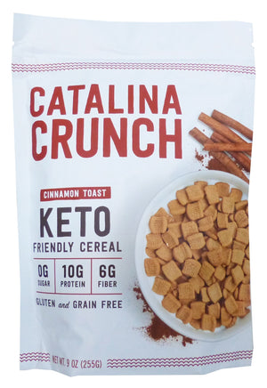 CEREAL CRUNCH 255g KETO CINNAMON TOAST
