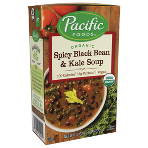 SOUP 472M SPICY BLACK BEAN KALE
