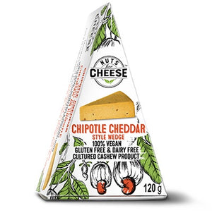 CHEESE VEGAN 120g CHIPOTLE CHEDDAR