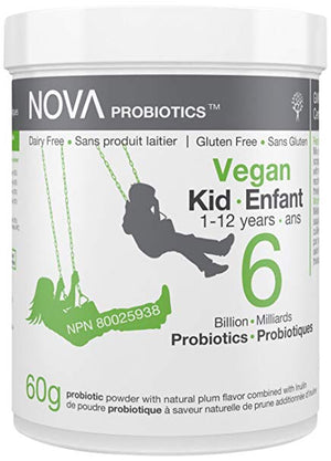 PROBIOTIC 6 BILLION VEGAN KID 1-12years 60G