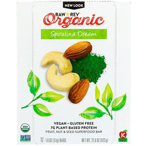 SPIRULINA DREAM ORGANIC BAR