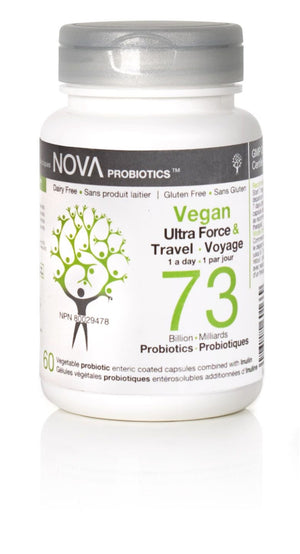 PROBIOTIC 73 BILLION 30C TRAVEL VEGAN
