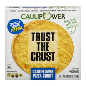 PIZZA CRUST CAULIFLOWER 2 UNITS 340g