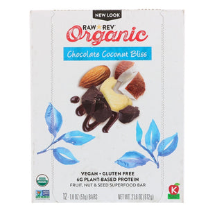 CHOCOLATE COCONUT BLISS ORGANIC BAR
