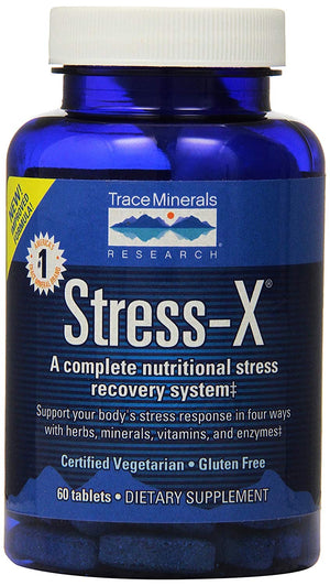 STRESS-X 60 capsules  Trace minerals