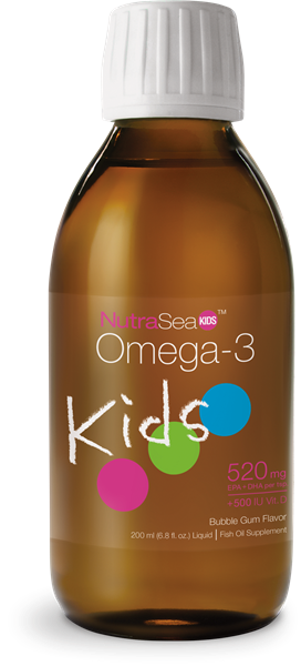 OMEGA-3 KIDS 200M BUBBLE GUM