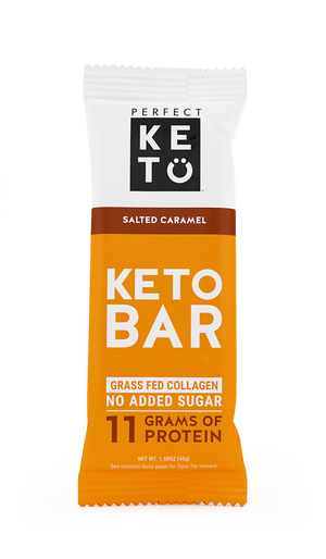PERFECT KETO BAR 45 g SALTED CARAMEL