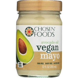 MAYONAISSE VEGAN 355M CHOSEN FOODS