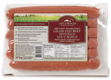 HOT DOGS 375G GRASS FED BEEF LIFE CHOICES