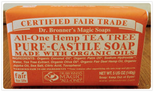 SOAP 140G TEA TREE DR.BROONE