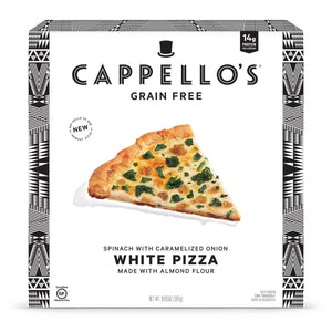PIZZA WHITE 307G SPINACH AMANDE CAPPELLO