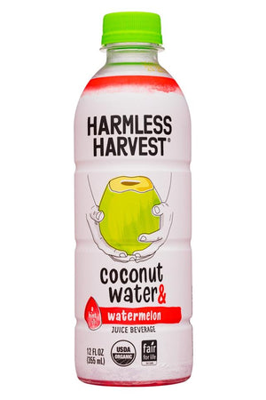 COCONUT WATER 355ML ORGANIC WATERMELON