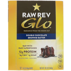 DOUBLE CHOCOLATE BROWNIE GLO BAR