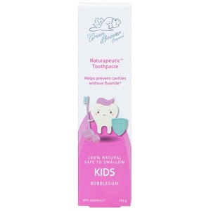 TOOTHPASTE KIDS 100G NO FLUORIDE BUBBLEGUM