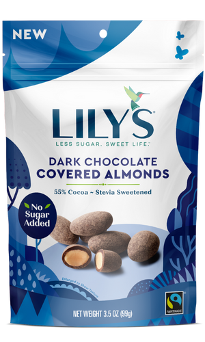 ALMOND COVERED 99G DARK CHOCOLATE