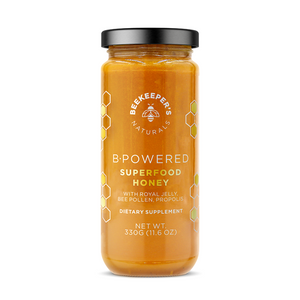 HONEY SUPERFOOD B.POWDERED 330G BEEKEEPERS