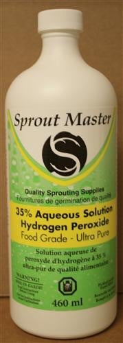 HYDROGEN PEROXIDE 460ML 35% (three per person)