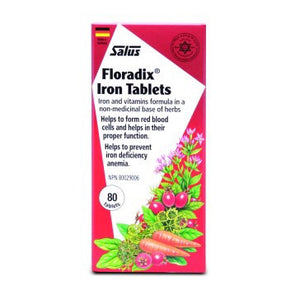 FLORADIX  80TABLETS IRON