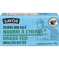 BEURRE 250G VACHE N/SALEE GRASS FED