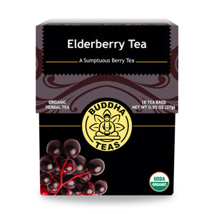 TEA BUDDHA 18SAC ELDERBERRY