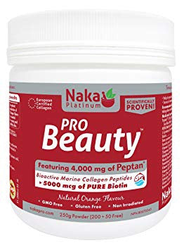 BEAUTY PRO 250G ORANGE NAKA