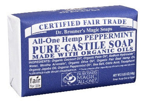SOAP 140G PEPPERMINT DR.BRONNER