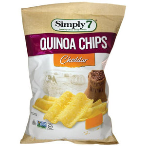 CHIPS GOURMET SIMPLY7 99G QUINOA CHEDDAR