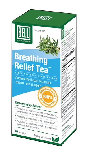 TEA BREATHE EASY  30BAG