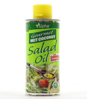 OIL MCT 250ML SALAD COCONUT