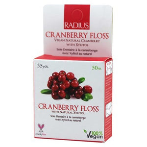 DENTAL FLOSS 50M CRANBERRY