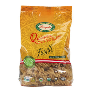 FUSILLI QUINOA & BROWN RICE 340g