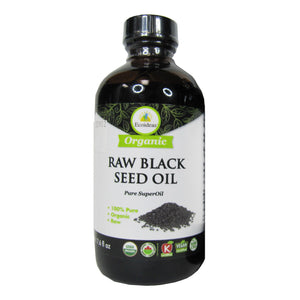 BLACK SEED OIL RAW 225M ECOIDEAS