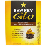 PEANUT BUTTER DARK CHOCOLATE & SEA SALT GLO BAR