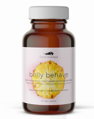 BELLY BEHAVE 60 CAPS