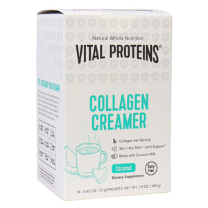 COLLAGEN CREAMER COCONUT STICK PACK -BOX