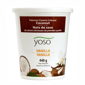 YOGURT VEGAN 440g COCONUT VANILLA