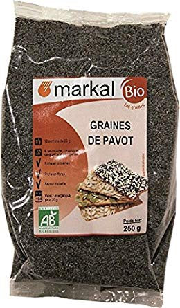 POPPY SEEDS 250g BIO MARKAL