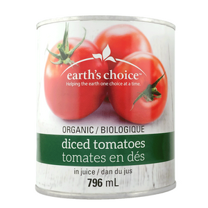 TOMATE DICED 796M ORGANIC EARTH CHOICE