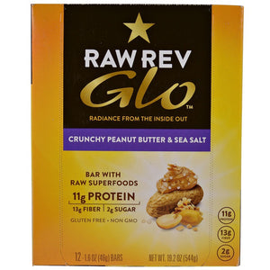 CRUNCHY PEANUT BUTTER & SEA SALT GLO BAR