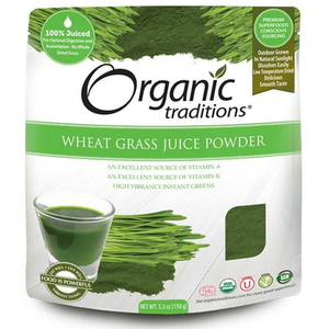 WHEAT GRASS JUICE  150G ORG.TRADITIONS