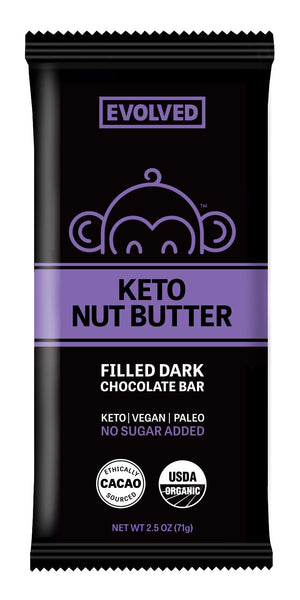 BAR EVOLVED KETO NUT BUTTER 71g