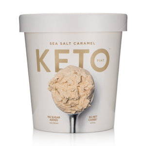 KETO ICE CREAM SEA SALT CARAMEL