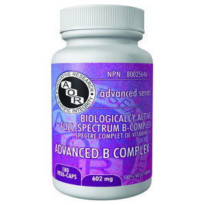 B-COMPLEX ADVANCED  180CAP AOR